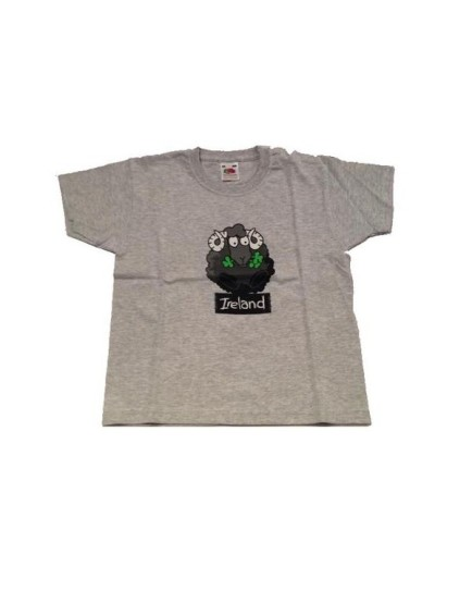 T-shirt Gray con Black Sheep