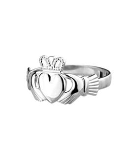 Claddagh Ring in argento