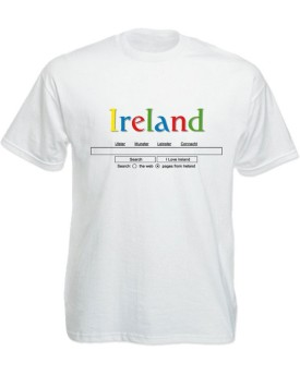 T-Shirt Bianca – Search Ireland