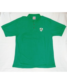 Polo Verde Chiaro – Shamrock Shield