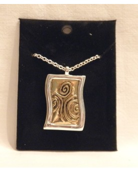 Collana Rectangular Pendant