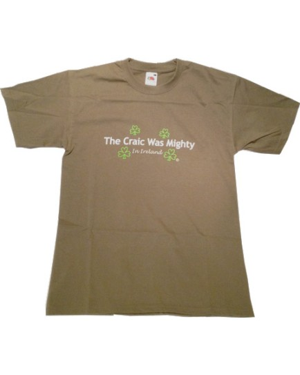 T-Shirt Verde Oliva - Craigh Was Mighty