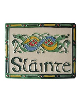 Placca in Ceramica Slainte