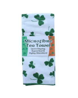 Tea Towel Shamrock
