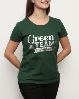 "T-Shirt Woman ""Green Team"""