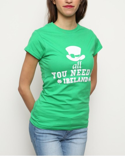 "T-Shirt Woman ""All you need"""