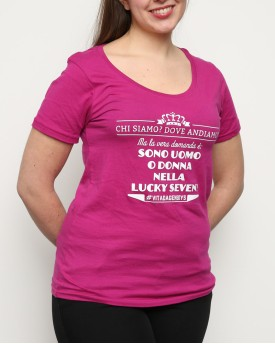 "T-Shirt Woman ""Lucky Seven"""