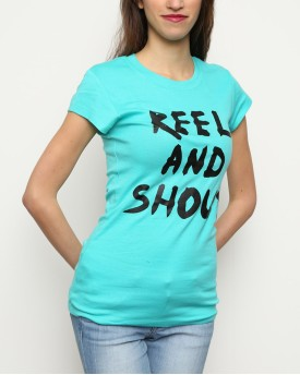 "T-Shirt Woman ""Reel and Shout"""