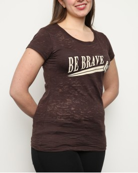 "T-Shirt Woman ""Be Brave"""