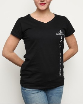 "T-Shirt Woman ""Official Gens d'Ys Academy"" Black"